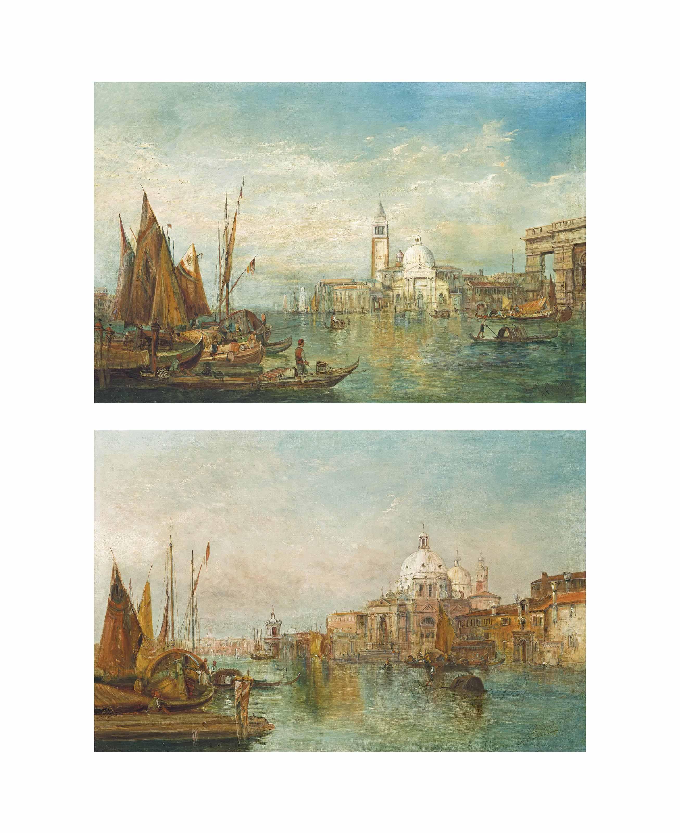 Santa Maria della Salute, Venice; and The Dogana, Venice