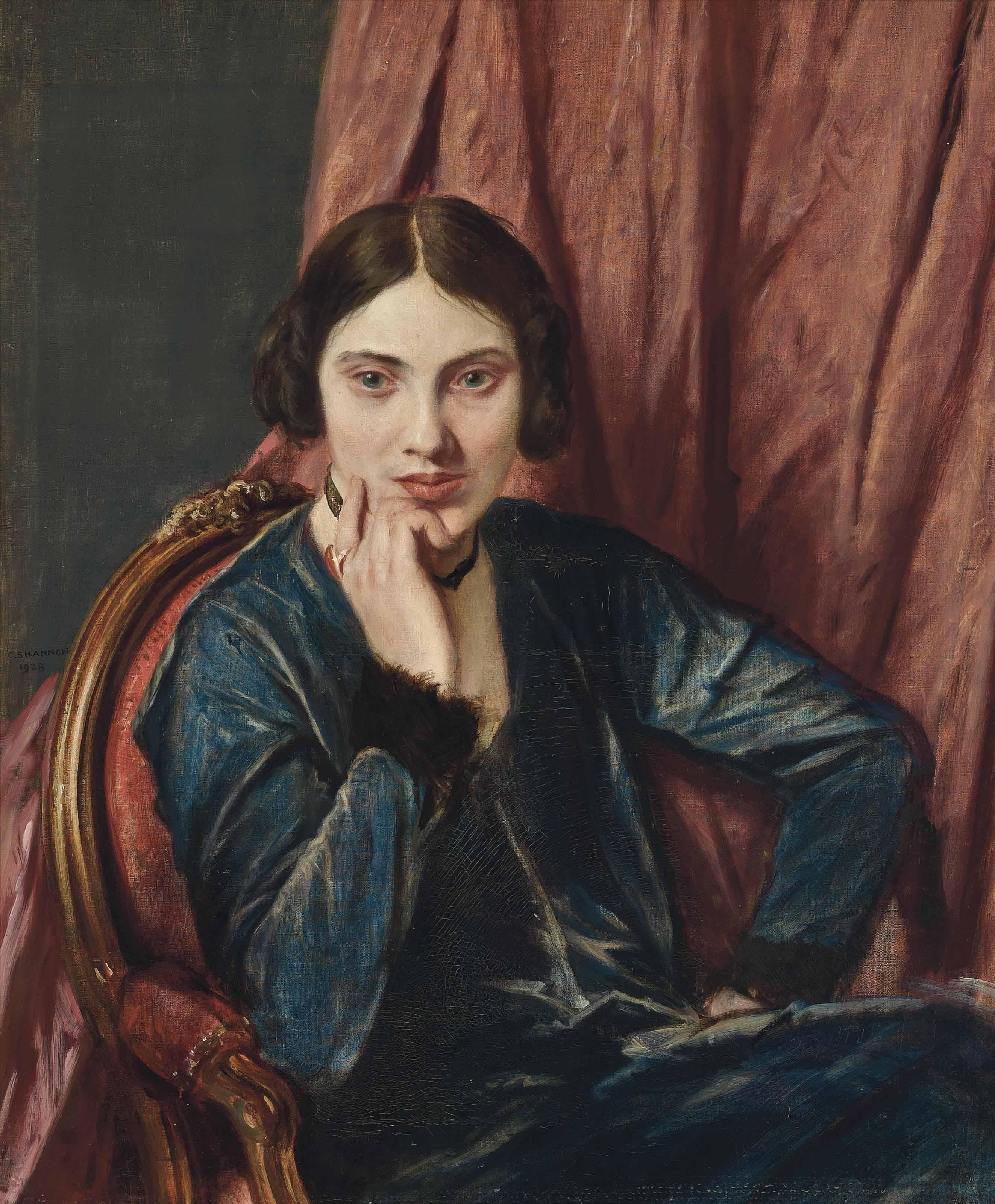 Portrait of Hilda Mary Moore (1886-1929)