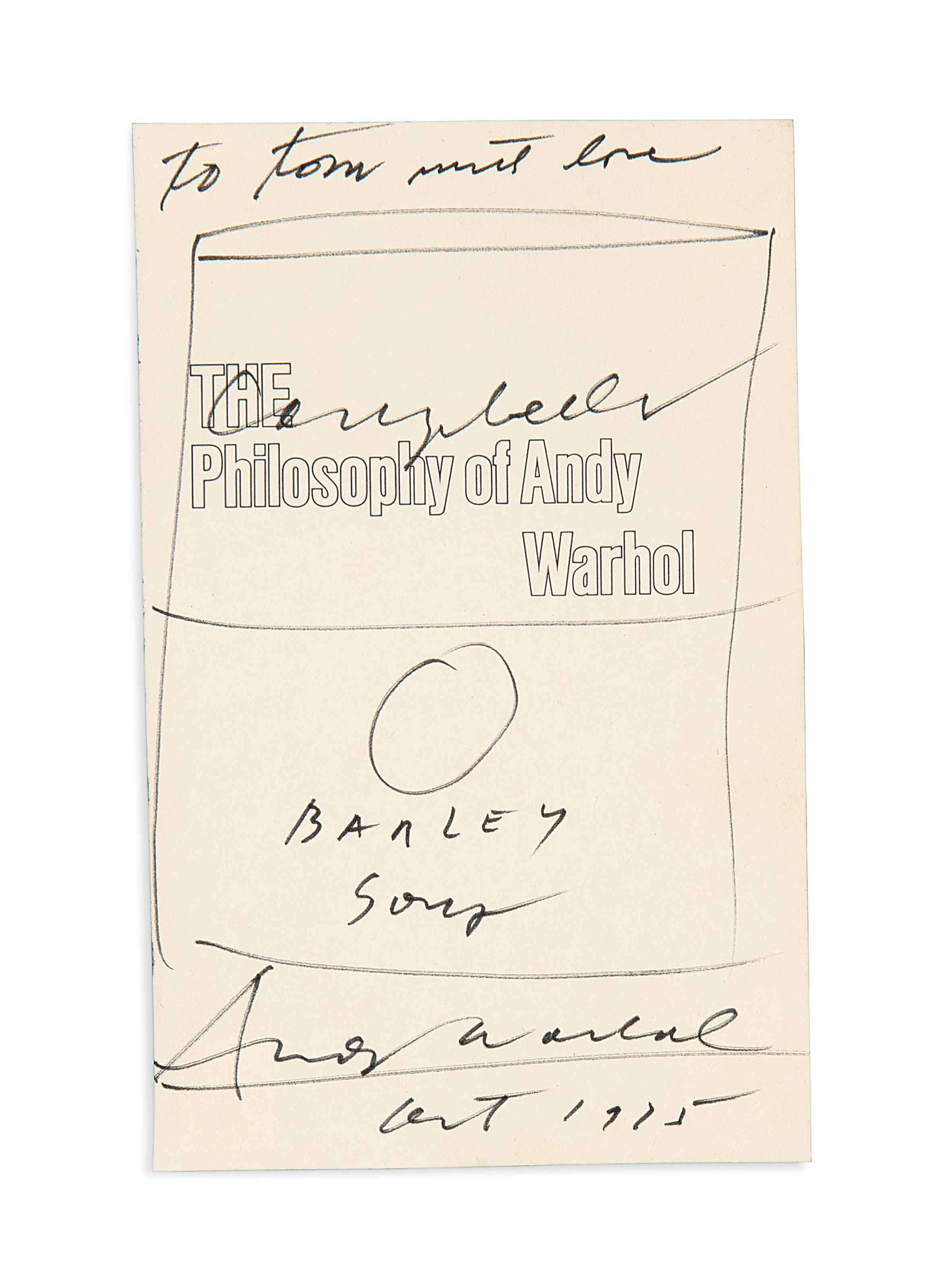 The Philosophy Of Andy Warhol Essay  Term Paper Academic Writing  The Philosophy Of Andy Warhol Essay