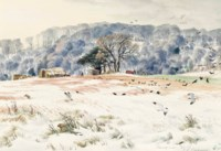 Clearing Snow, Pole Hill