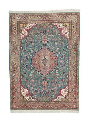 An extremely fine Tabriz carpe