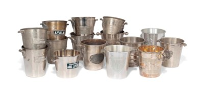 FIFTEEN FRENCH SILVER-PLATED C