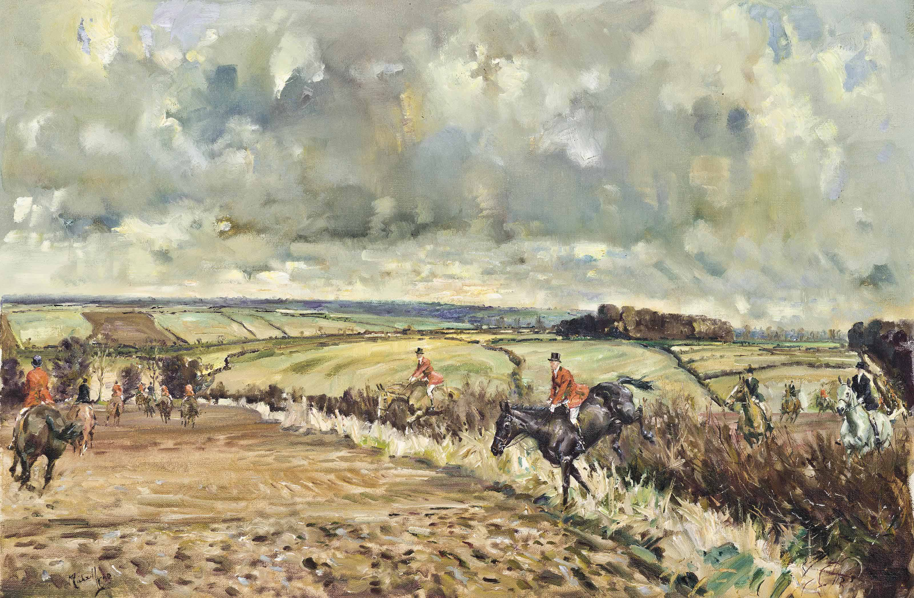 The Belvoir Hunt