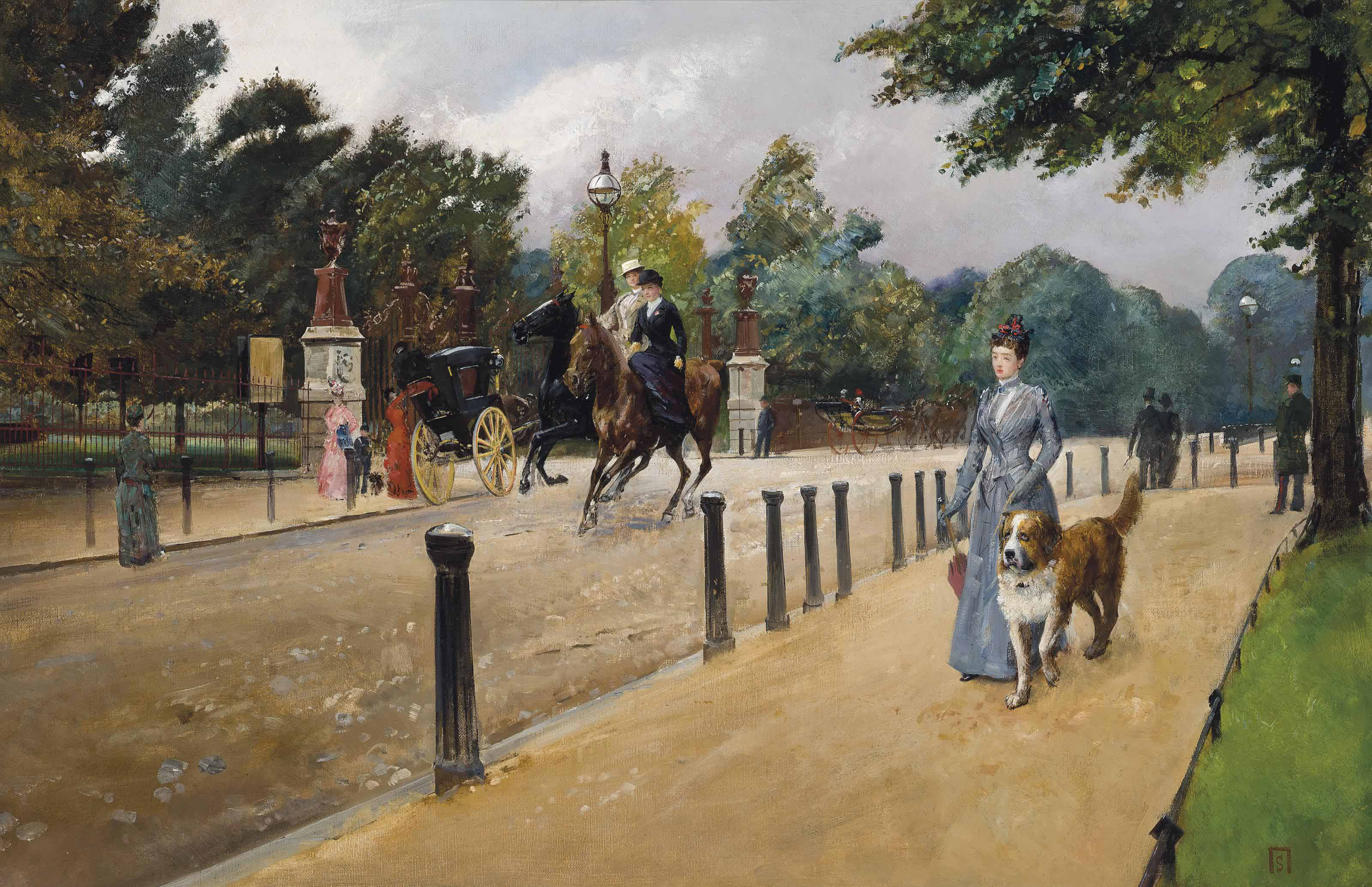 Sir Robert Ponsonby Staples, Bt. (1853-1943)