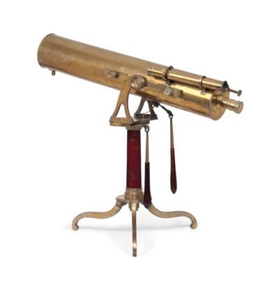 A Brass 5 Inch Reflecting Tele