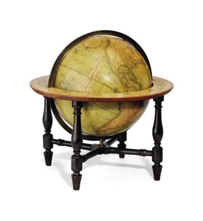 A 12-Inch English Table Globe