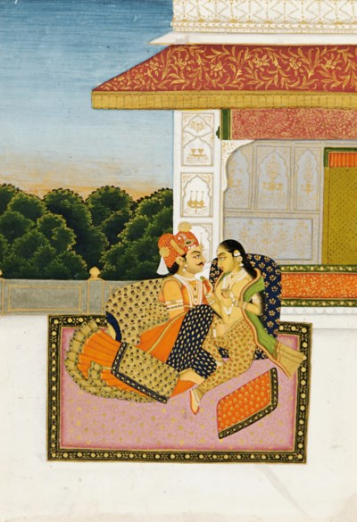 AN AMOROUS COUPLE