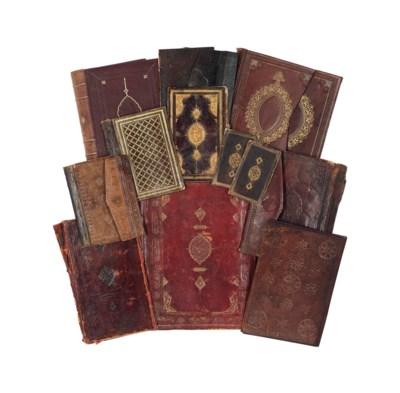 ELEVEN MOROCCO BOOK BINDINGS