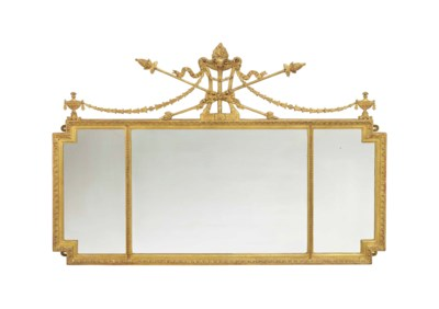 AN ENGLISH GILTWOOD AND COMPOS