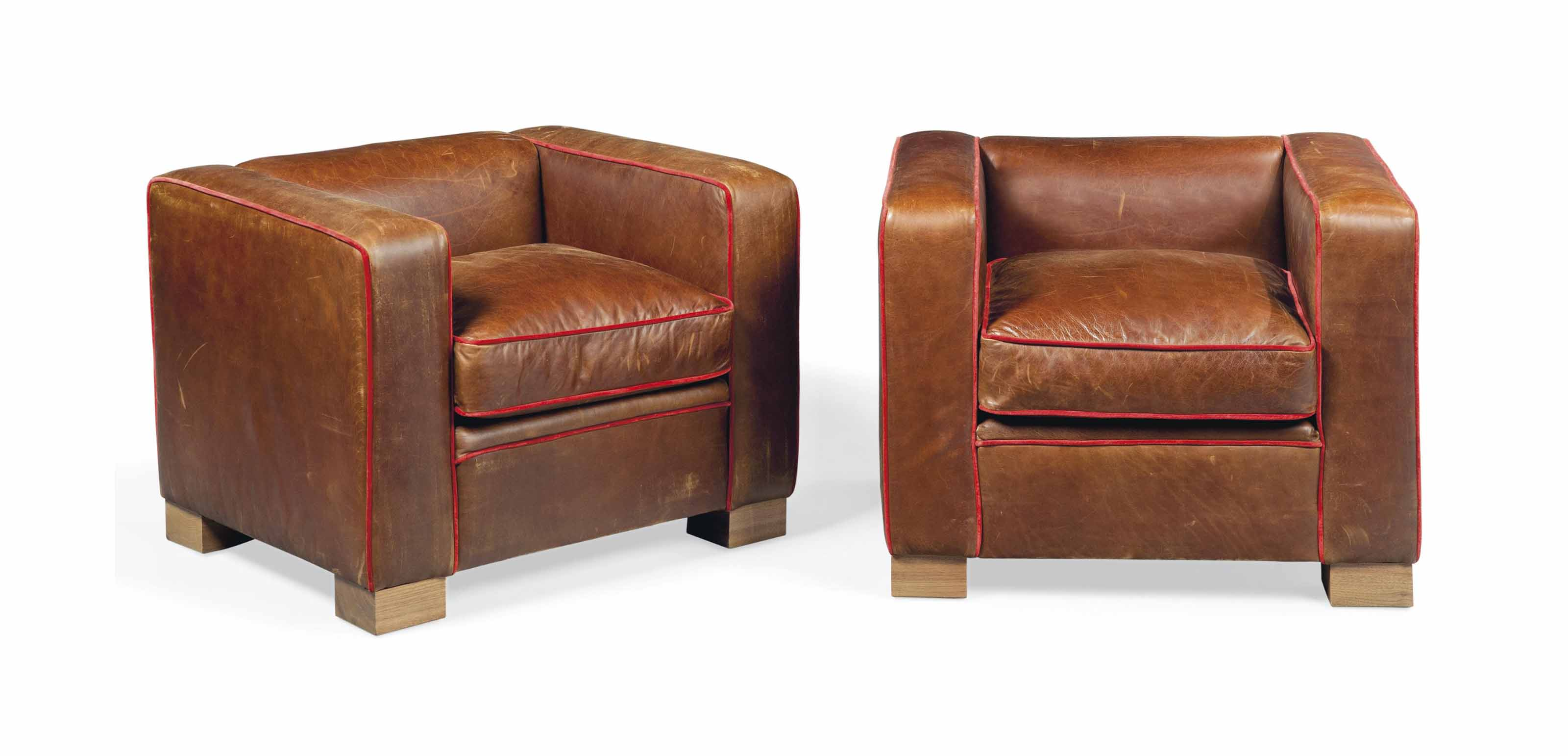 A PAIR OF 'MAX' ARMCHAIRS