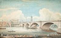 Views of the Thames: London Bridge; and Southwark Bridge