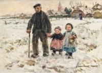 A winter walk with Grandpa