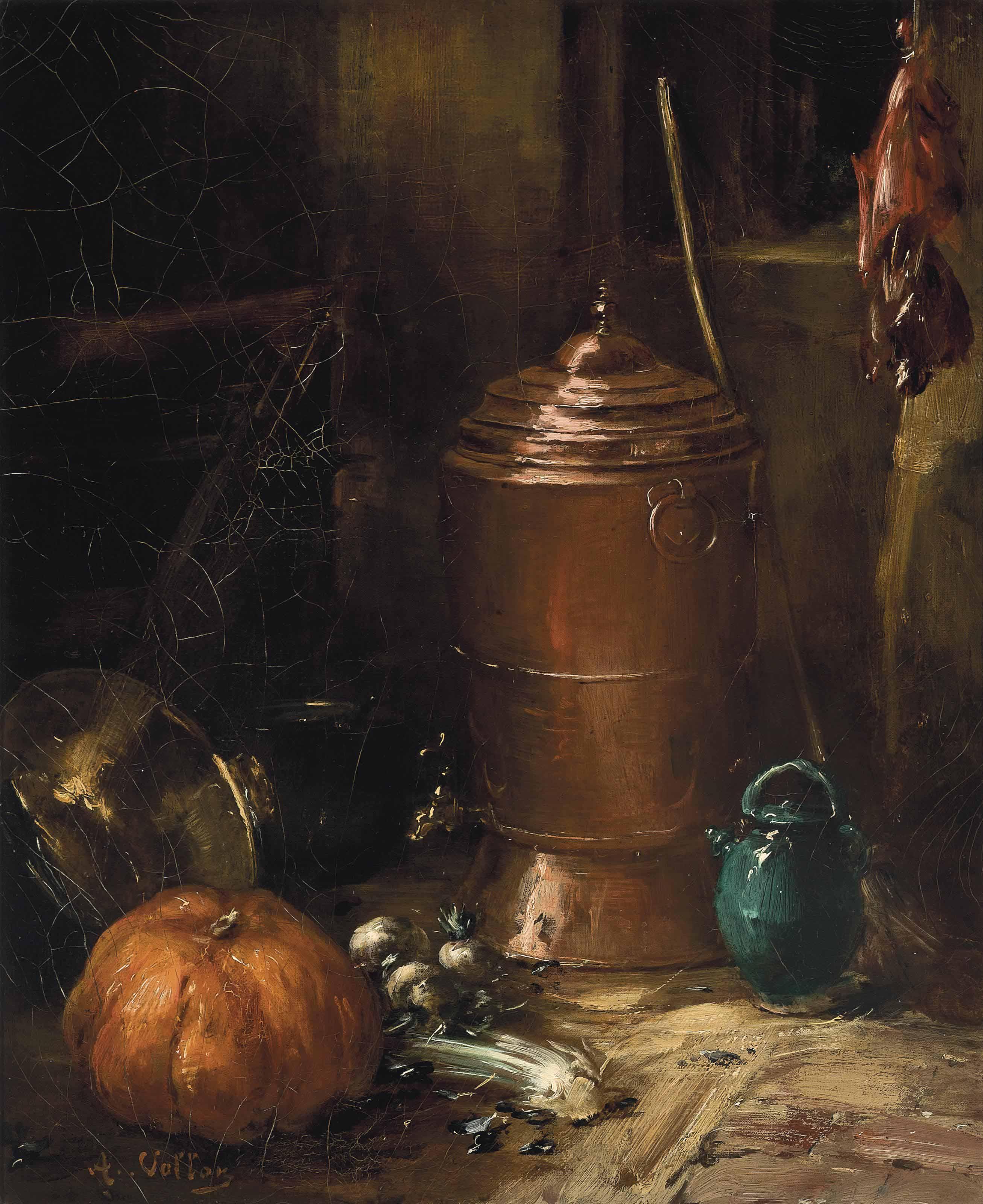 Antoine Vollon (FRENCH, 1833-1900)