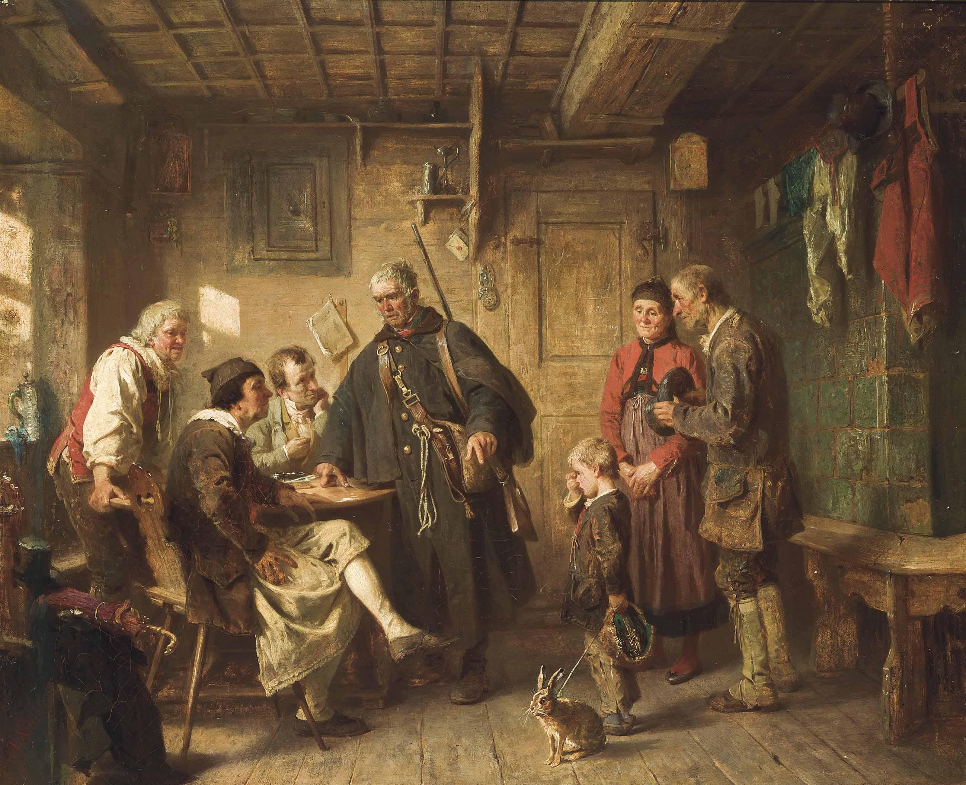 Albert Kindler (GERMAN, 1833-1876)