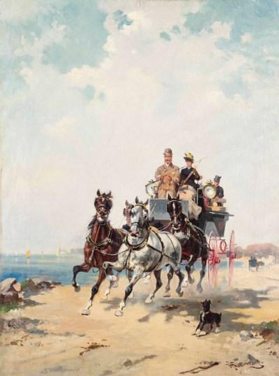 Alfredo Tominz (Italian, 1854-