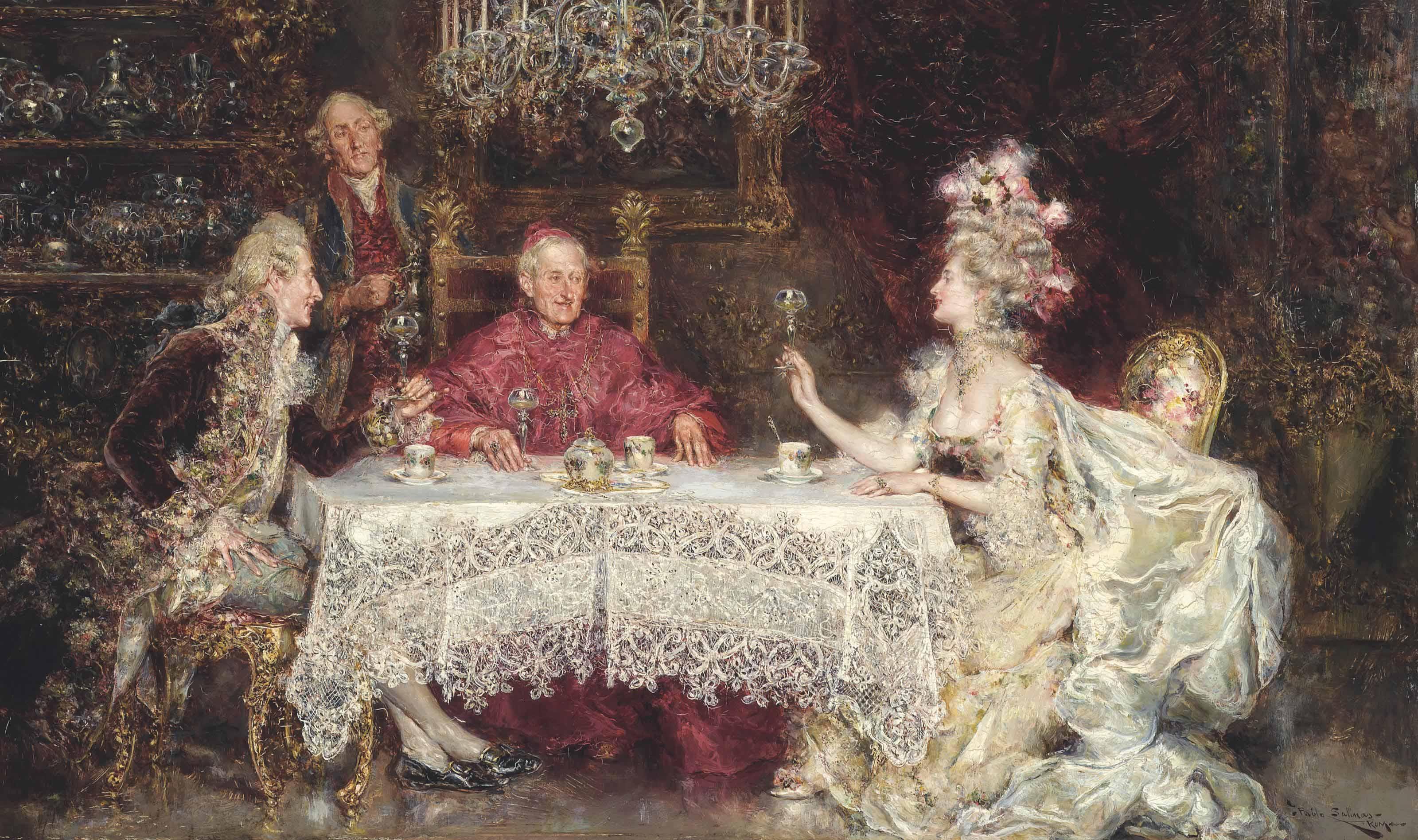 A toast to the cardinal