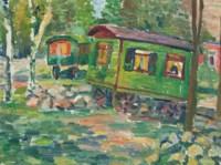 Grüne Wagen