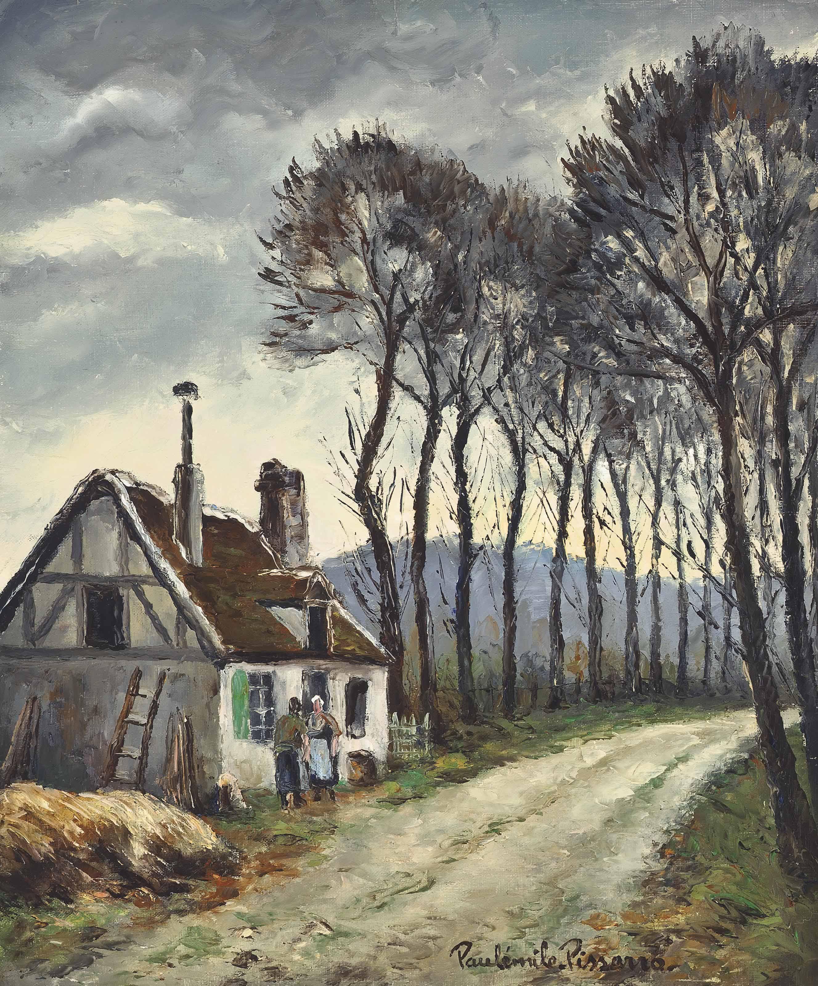 Route de Bazincourt, Eure