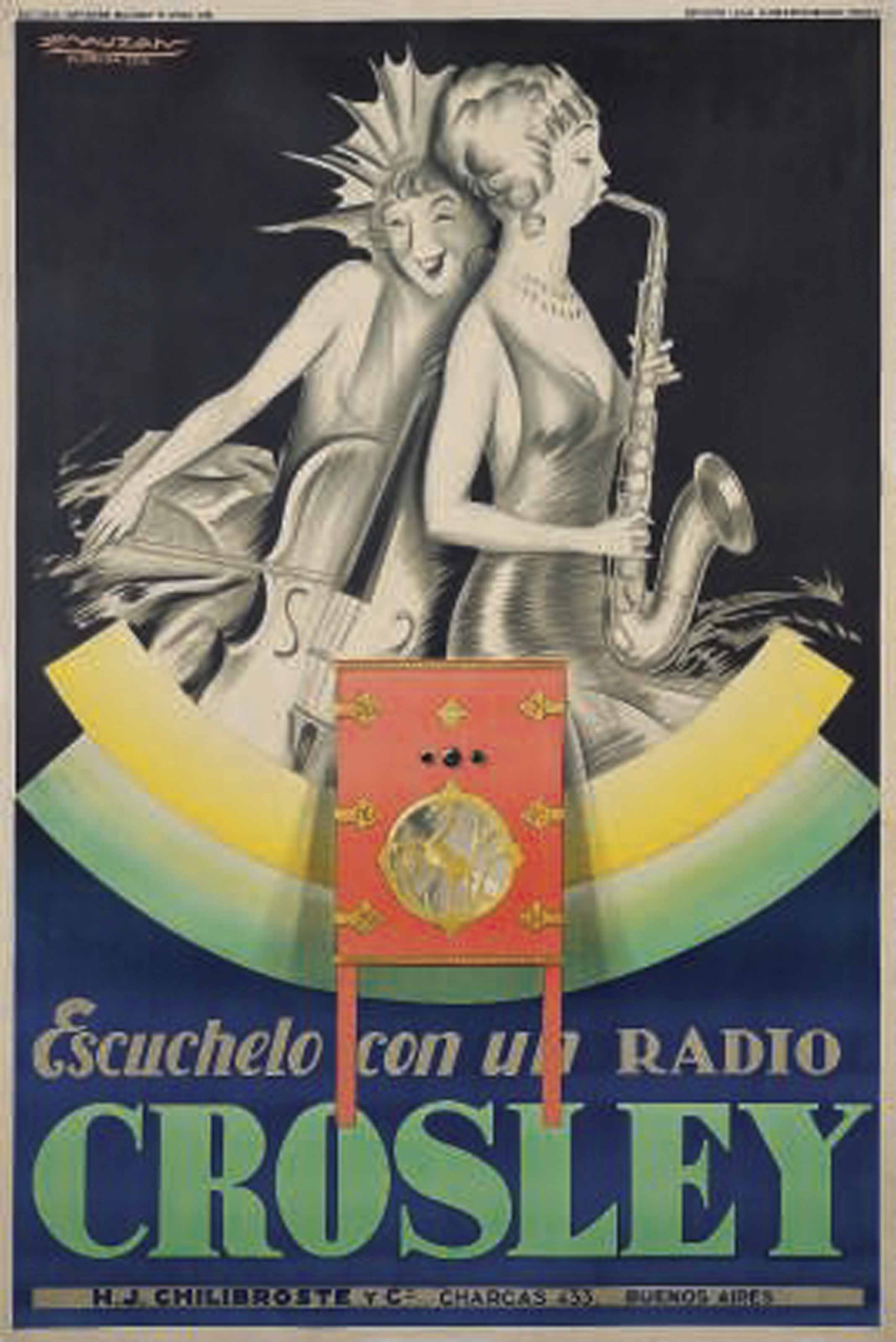 RADIO CROSLEY