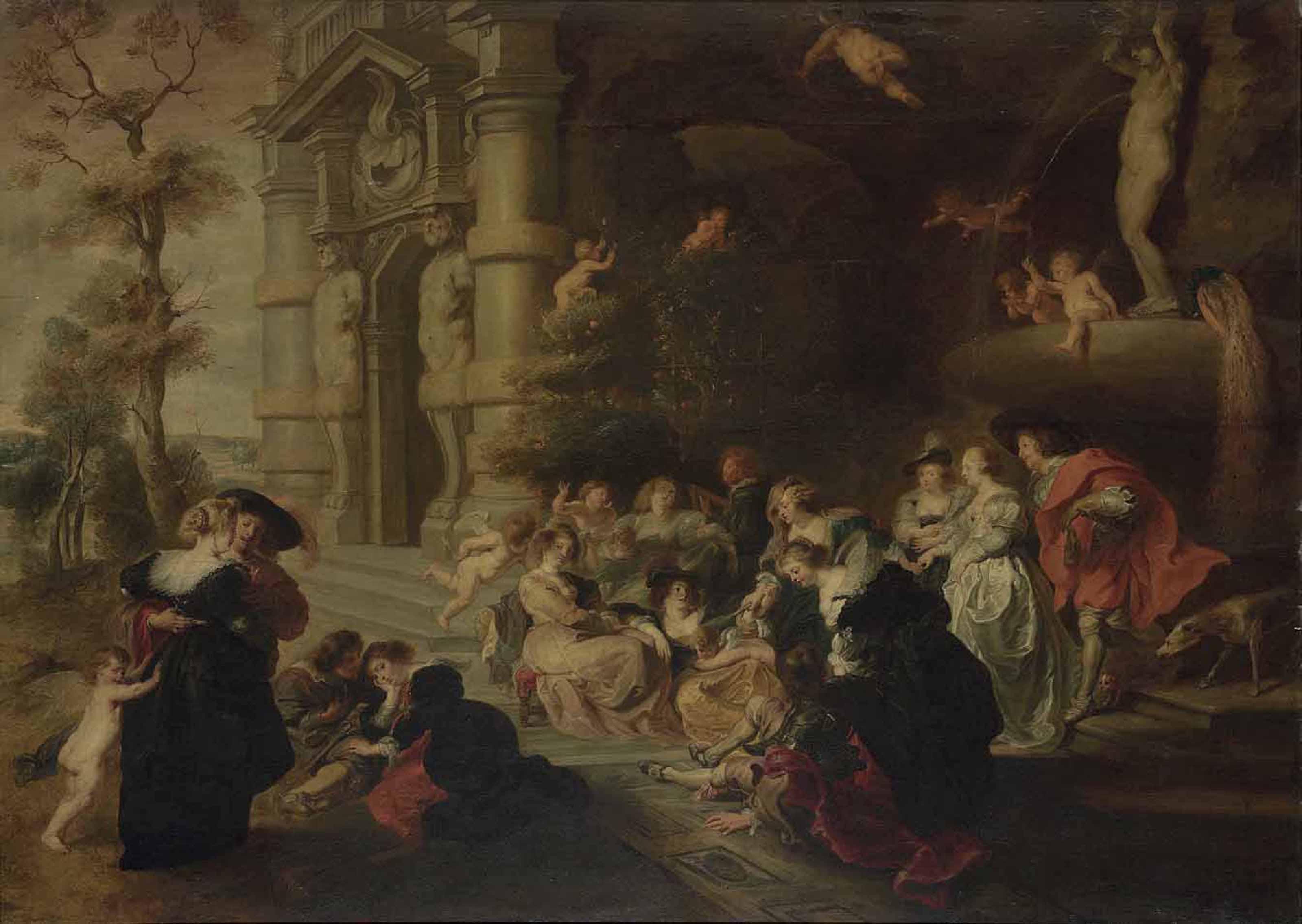 Circle of Sir Peter Paul Rubens (Siegen 1577-1640 Antwerp)   The ...