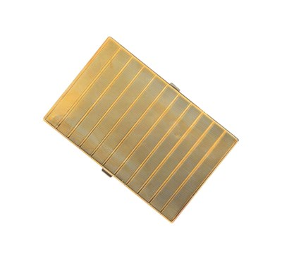 A 9ct gold compact / cigarette