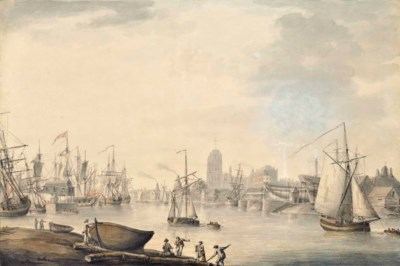 Nicholas Pocock, O.W.S (1740-1