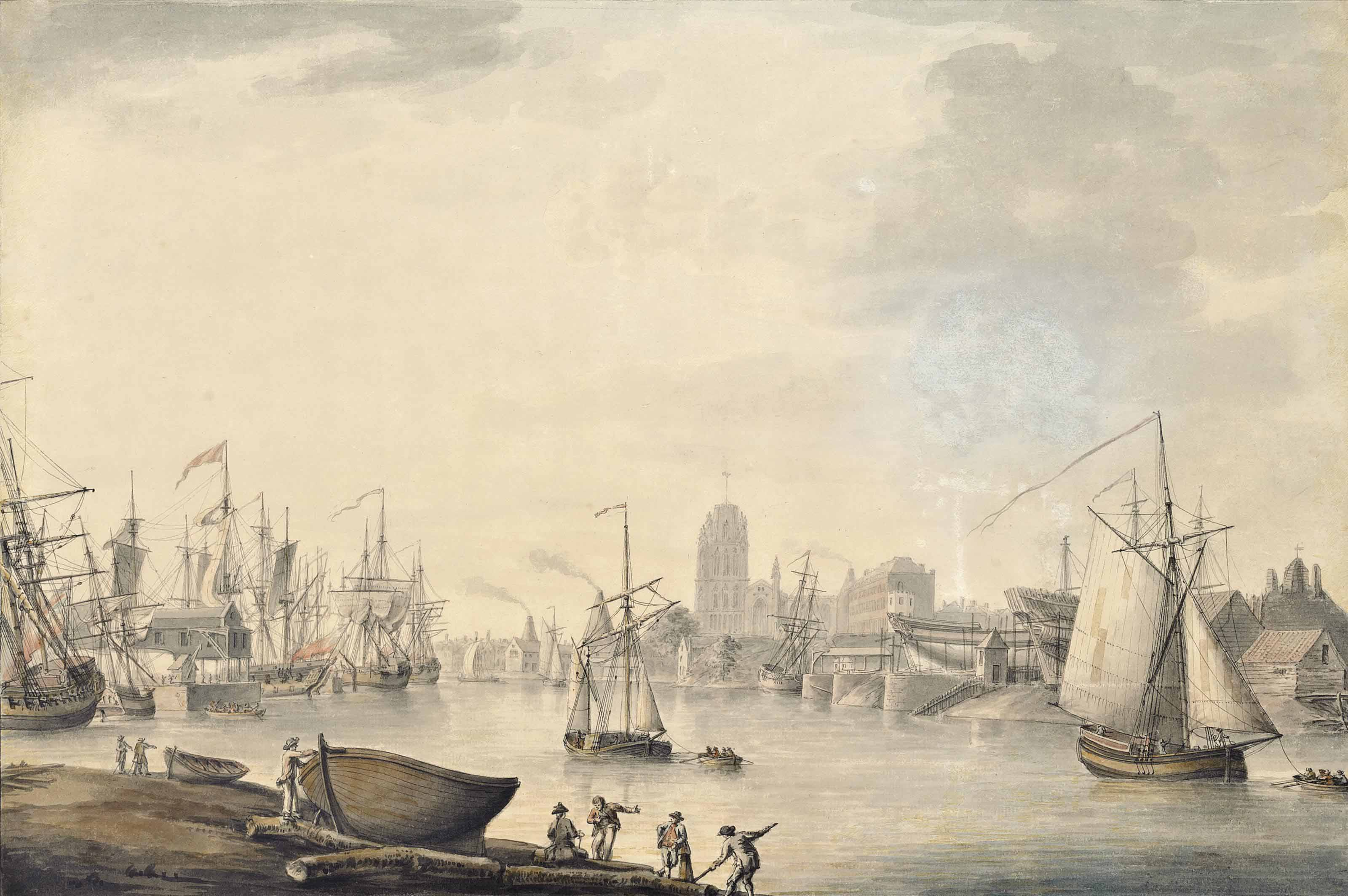 Nicholas Pocock, O.W.S (1740-1821)