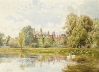 View of Eton from the Thames, 1902