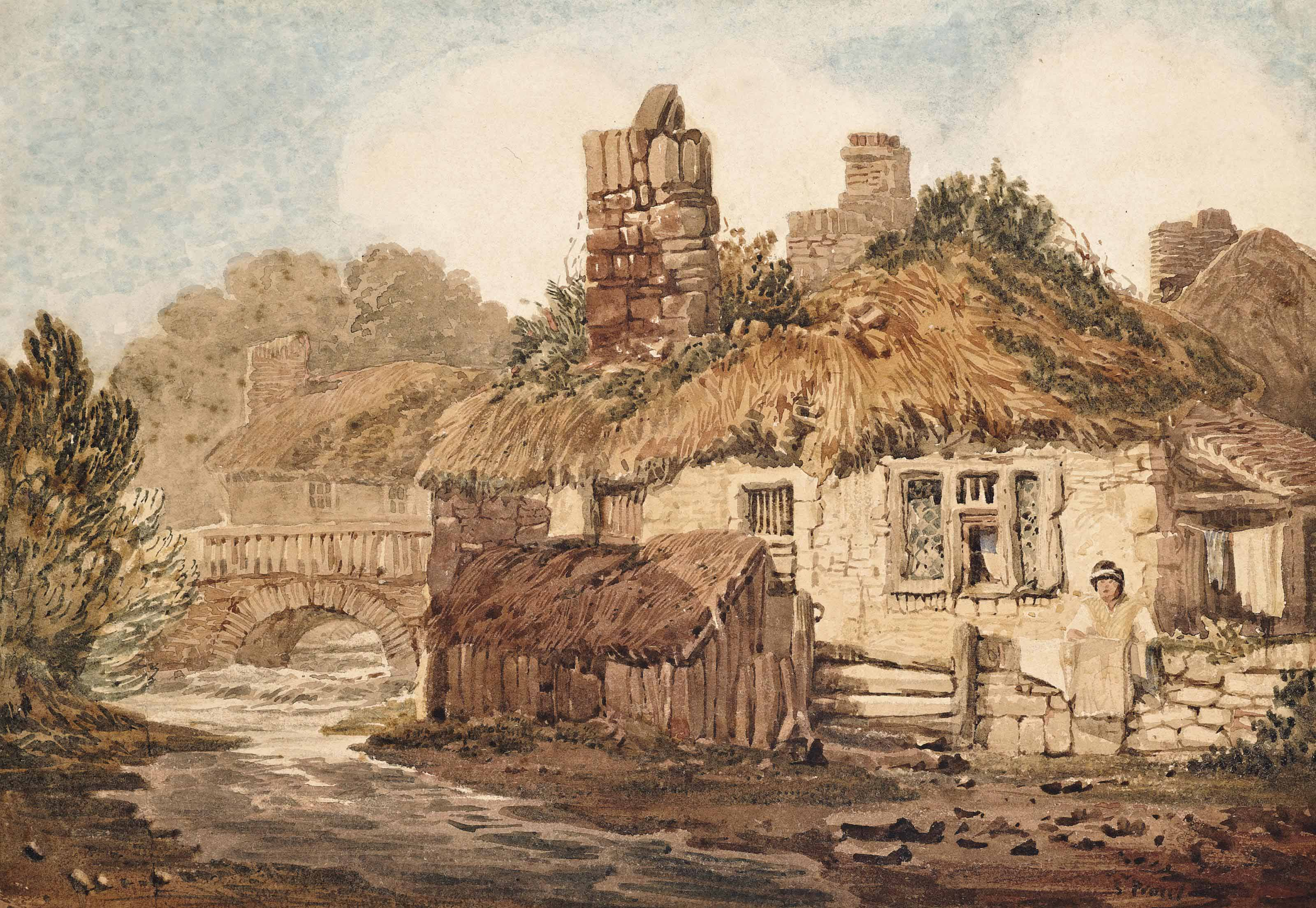 A riverside cottage in Exeter