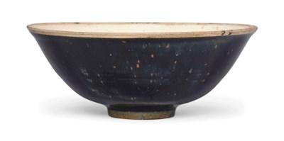 A DING-TYPE BLACK-GLAZED BOWL