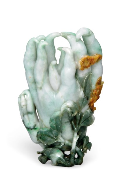 A JADEITE MODEL OF A FINGER CI