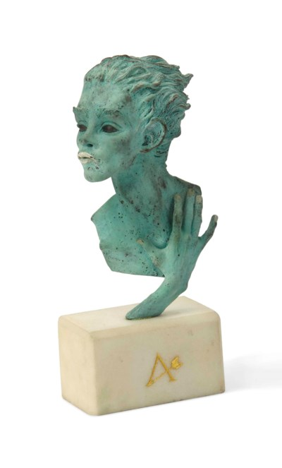A KEVIN COATES PATINATED BRONZ