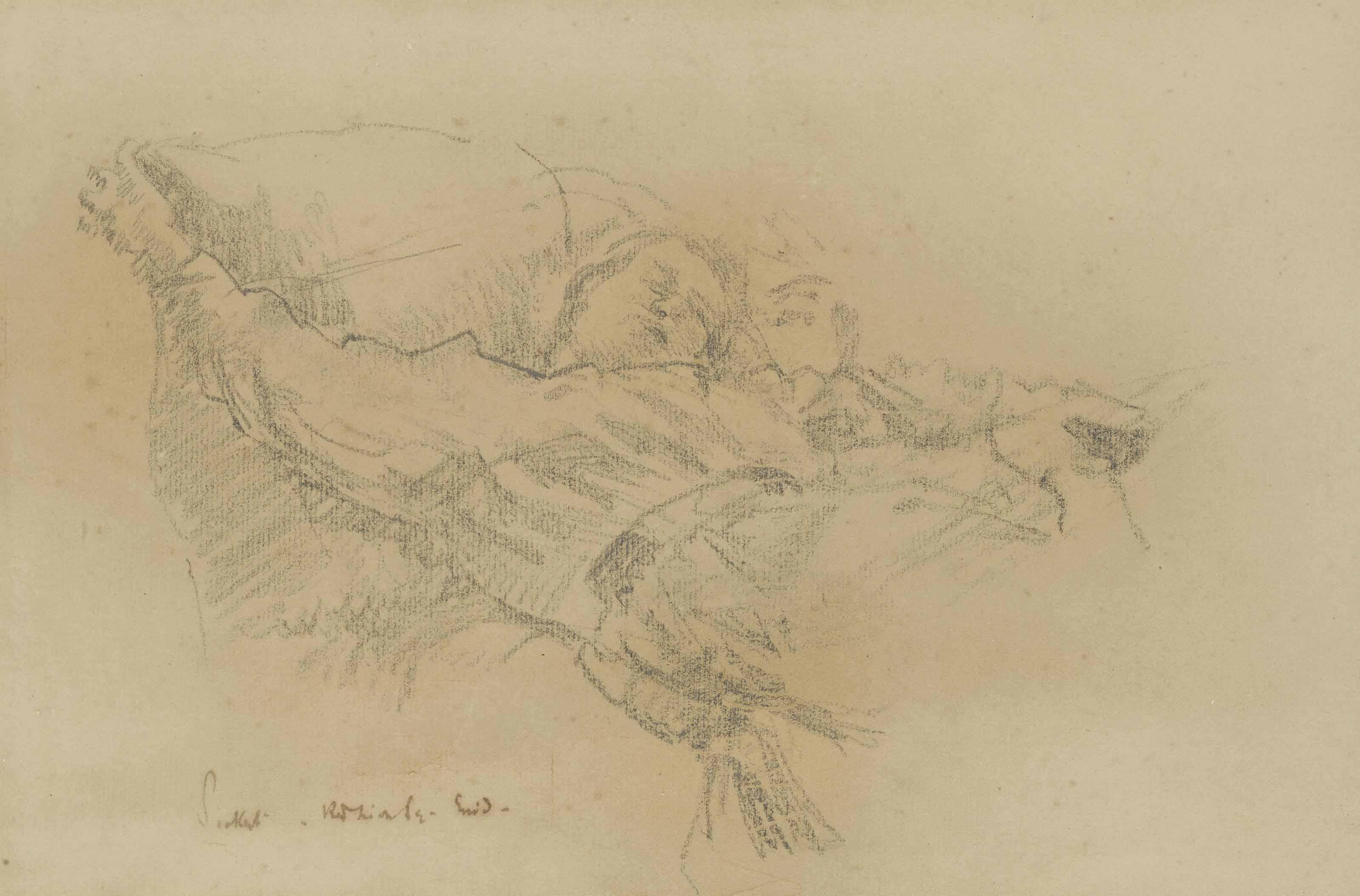 Walter Richard Sickert A R A 1860 1942 Enid Bagnold