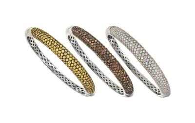Three bangles, by Chatila
