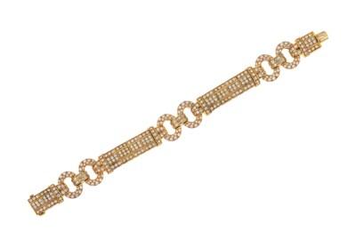 A diamond bracelet, by Chatila