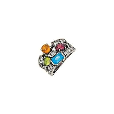 A diamond and gem-set 'Allegra