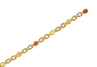 A vari-gem bracelet