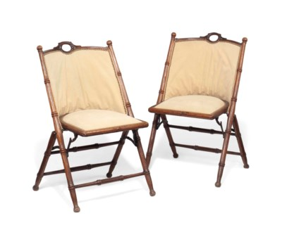 A PAIR OF LATE VICTORIAN OR ED