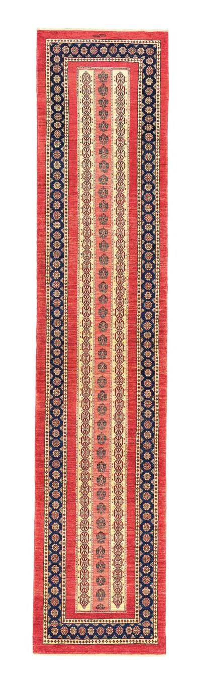 A FINE QASHQULI RUNNER, SOUTH-