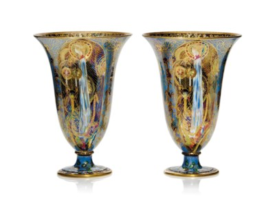 A PAIR OF WEDGWOOD 'FAIRYLAND