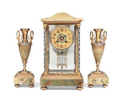 A FRENCH ORMOLU-MOUNTED CHAMPL