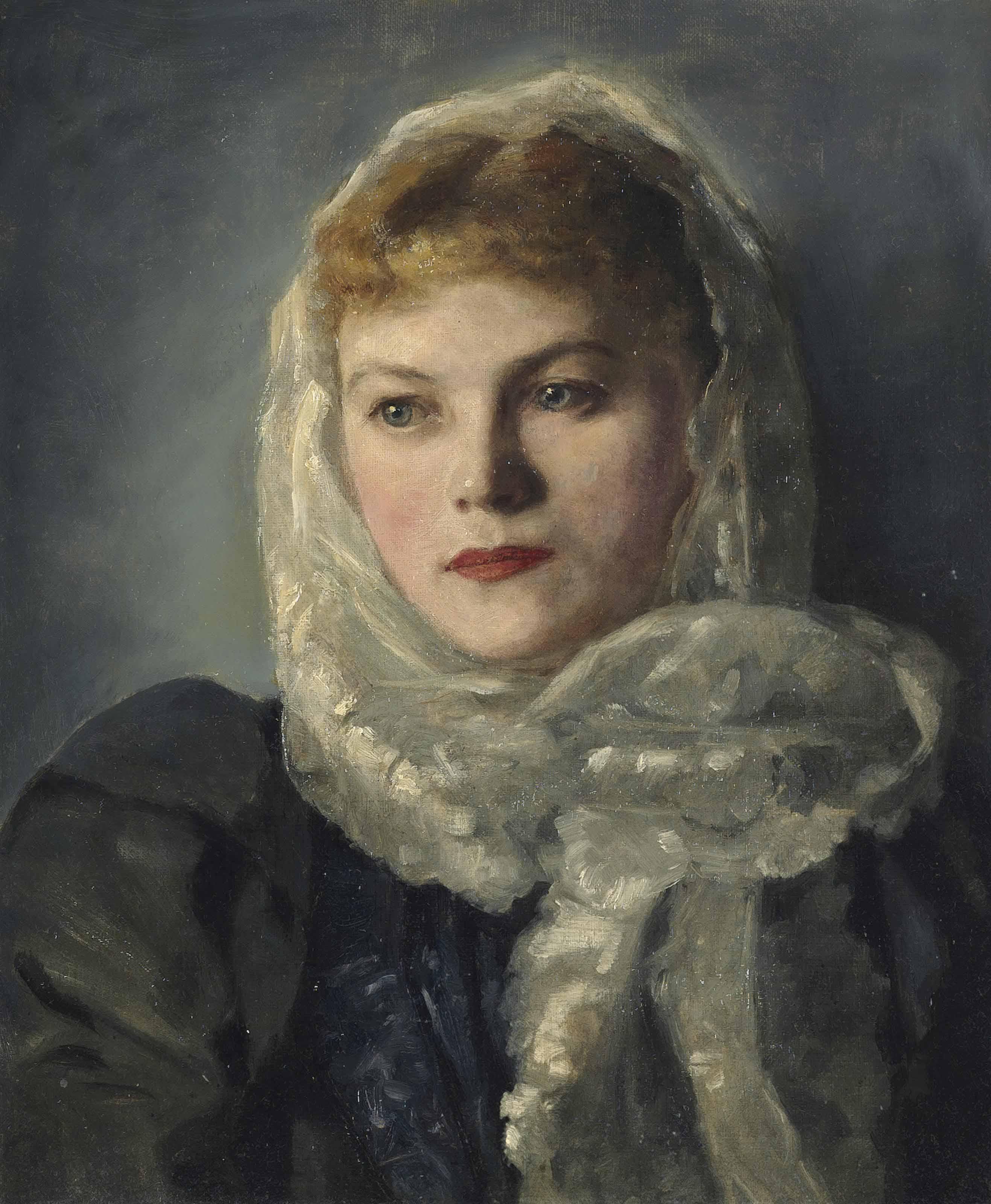 Portrait of Else Sapatka