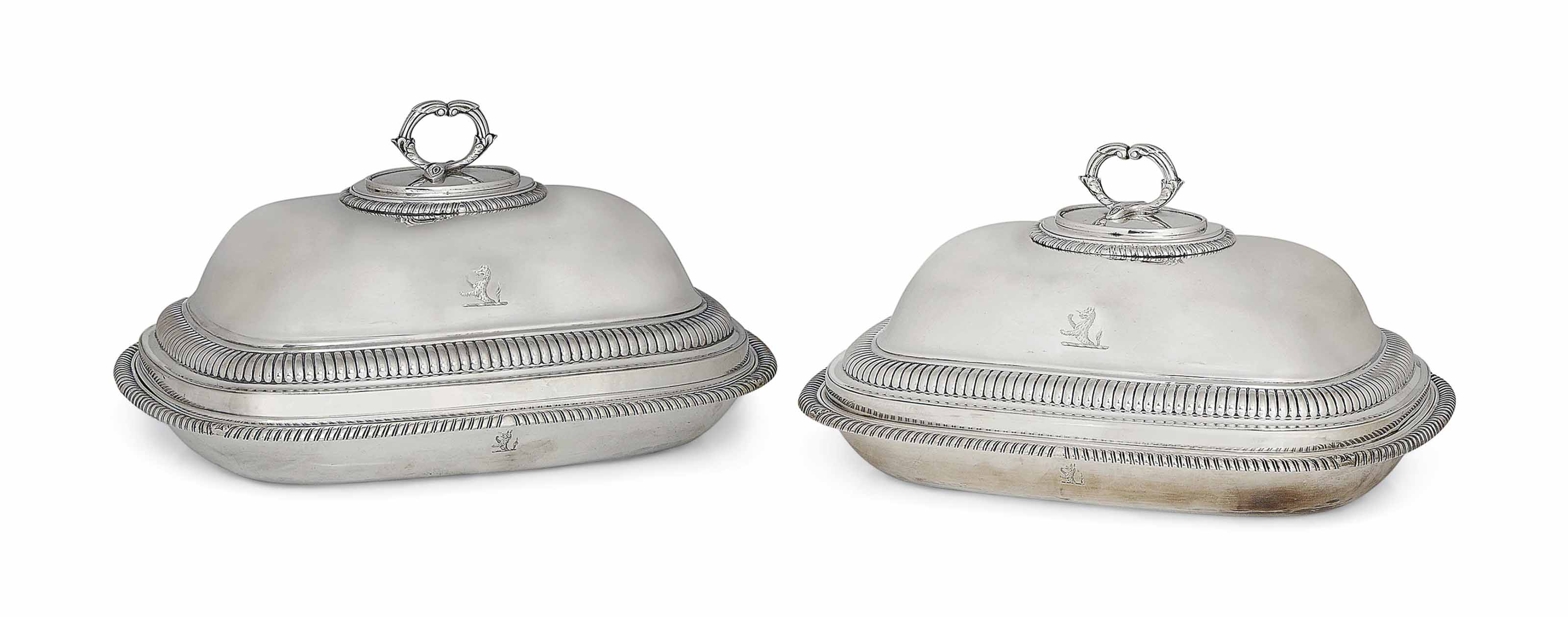 A MATCHED PAIR OF GEORGE III S