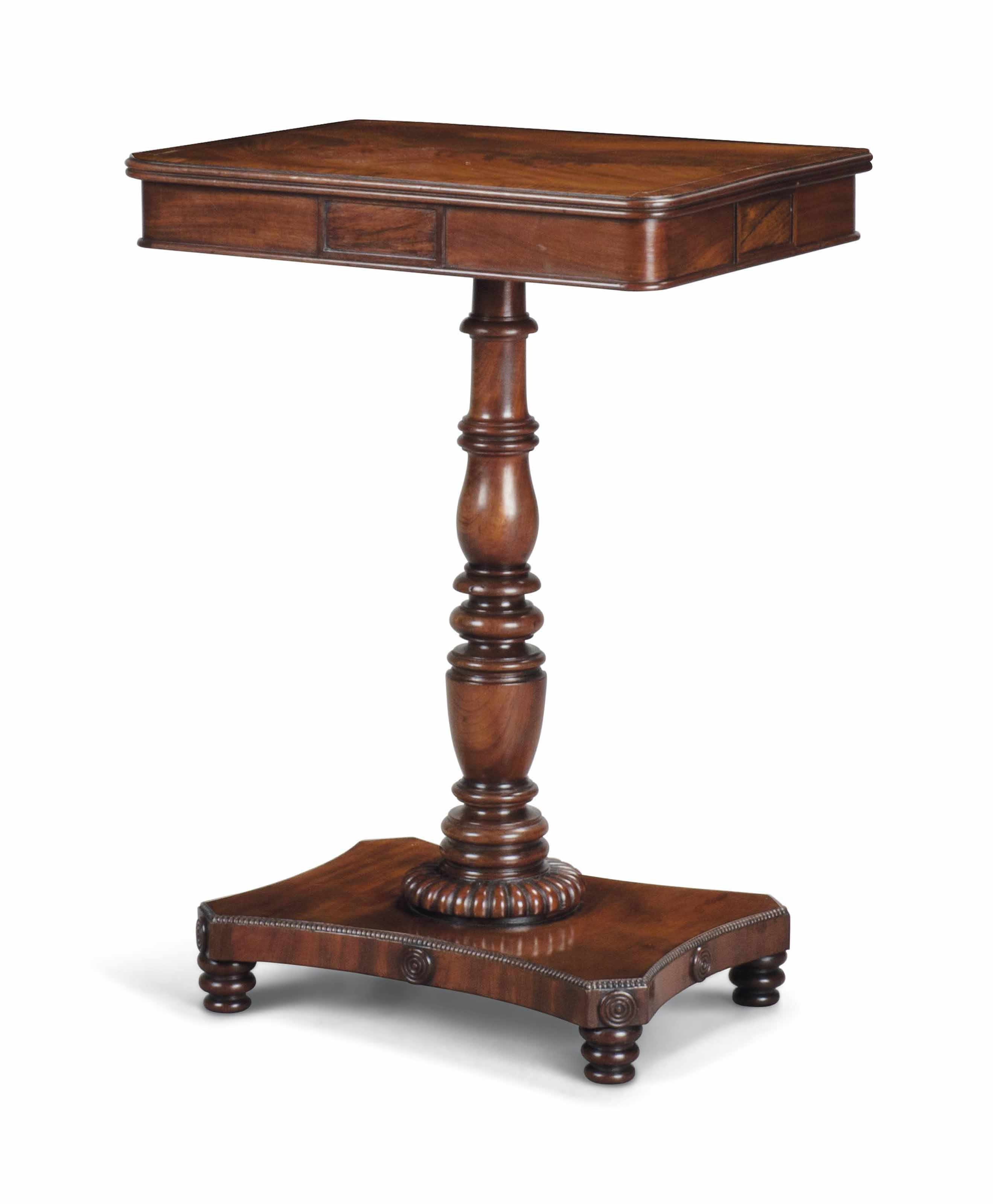 A REGENCY BRASS AND ROSEWOOD I