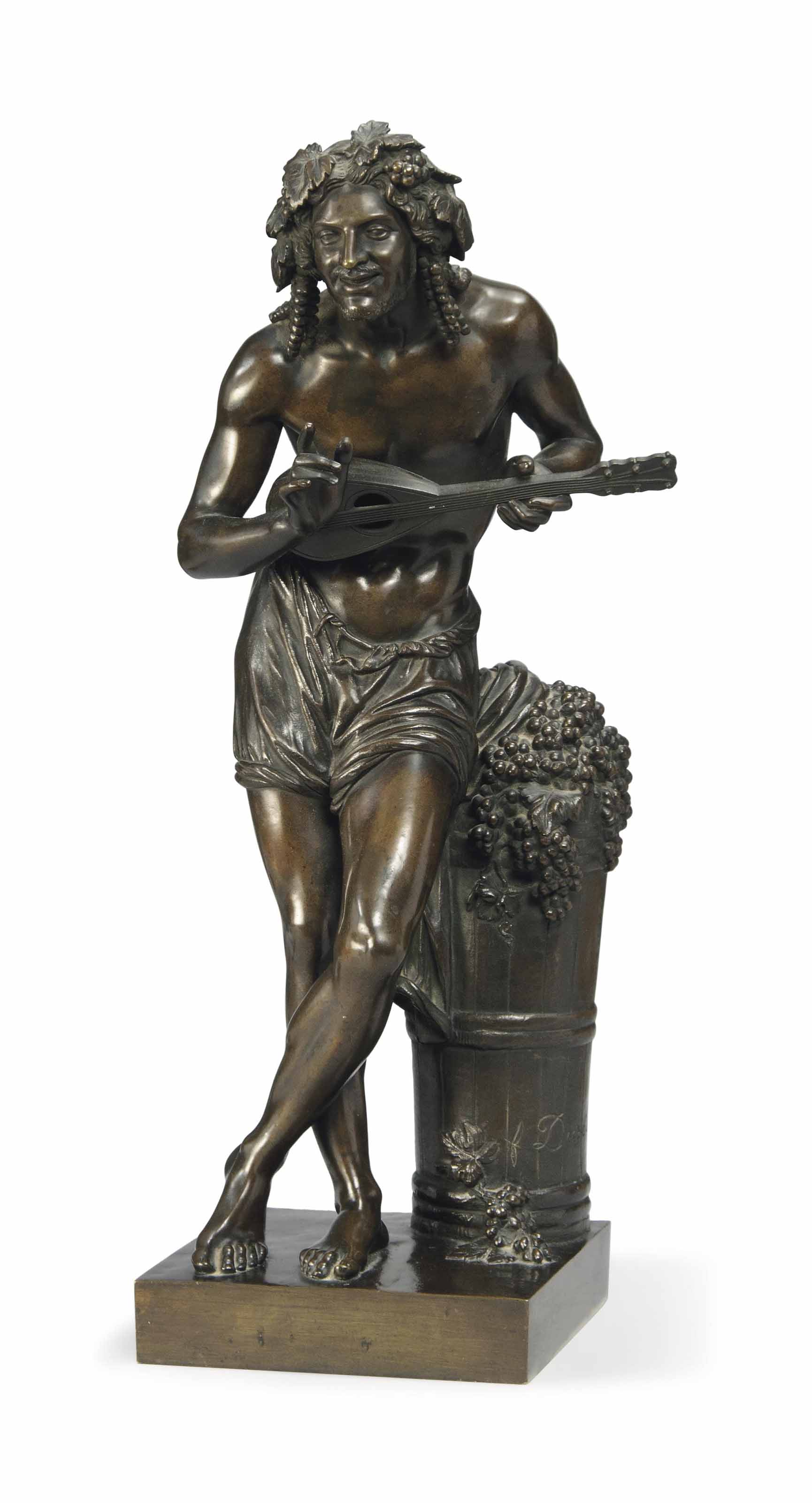 A FRENCH BRONZE FIGURE OF 'IMP
