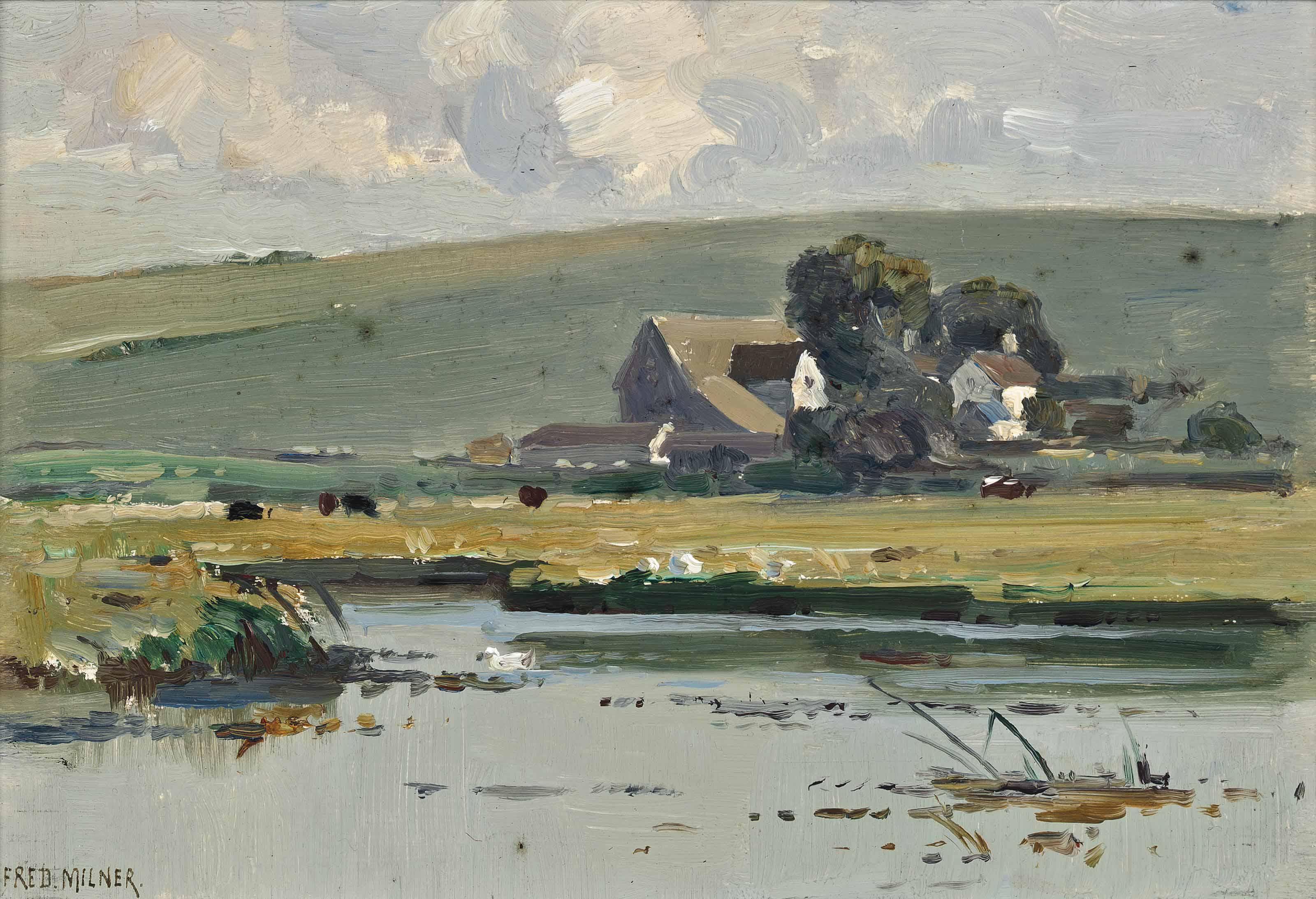 On the Windrush, Burford, Oxofordshire