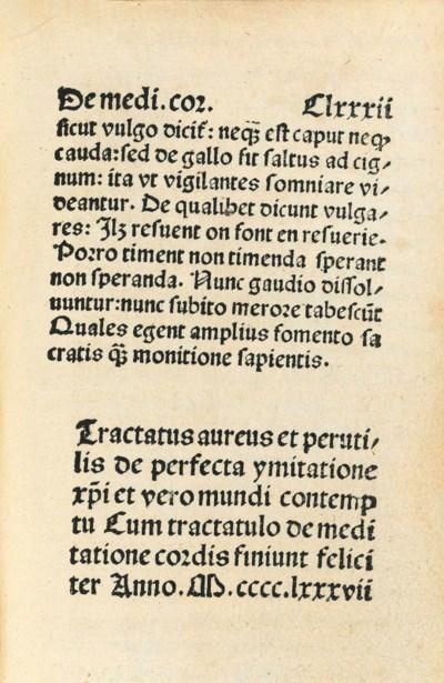 THOMAS A KEMPIS (1380-1471). I