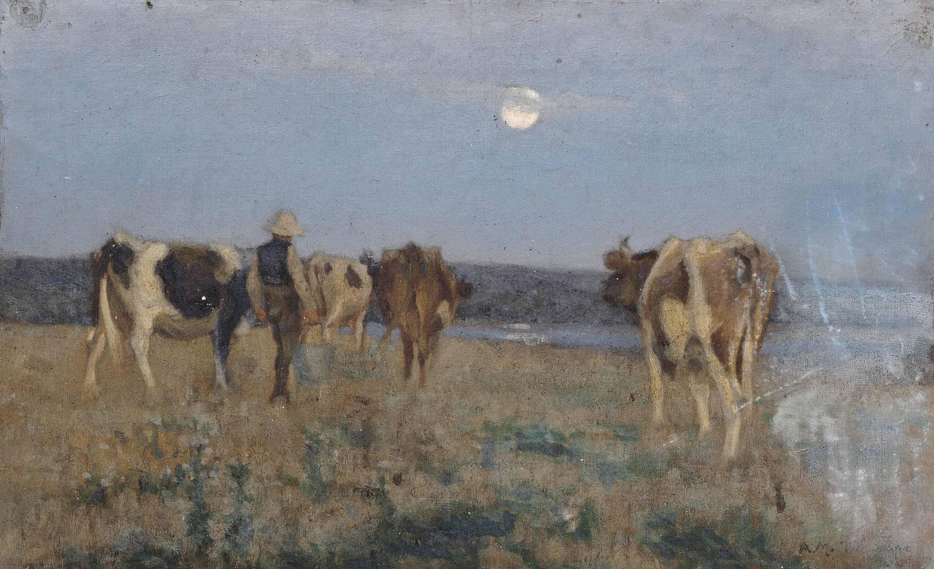 Algernon Mayon Talmage, R.A., R.O.I., R.W.A., A.R.E. (1871-1939)