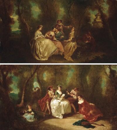 Follower of Antoine Watteau