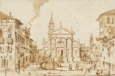 Attributed to Giacomo Guardi (